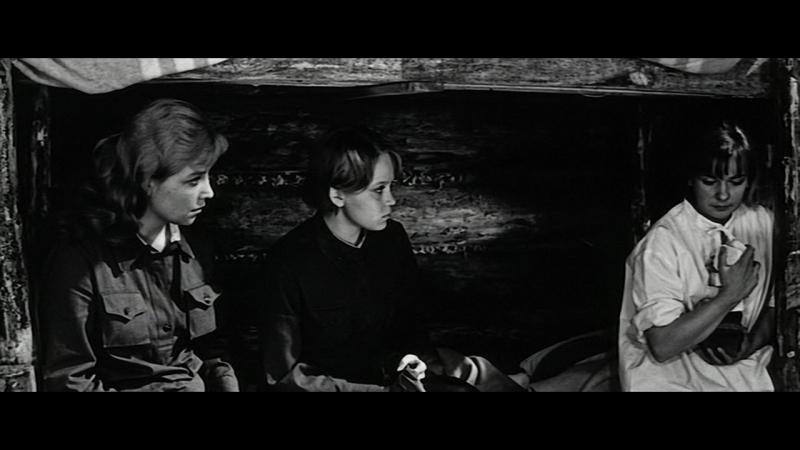 …А зори здесь тихие 1972 1 серия