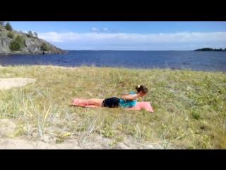 Yoga at Lagoda