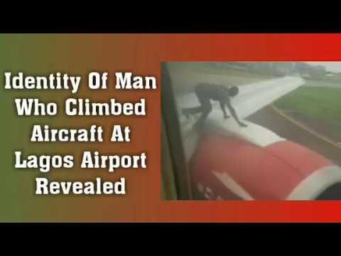 Drama As Man Climbs Aircraft Identity Of Aircraft Climber Obi Hug Ngi Asari On Biafra Otedolas