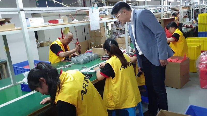AFOX Corp. Part 1: motherboard production (Shenzhen, China, June 2019)