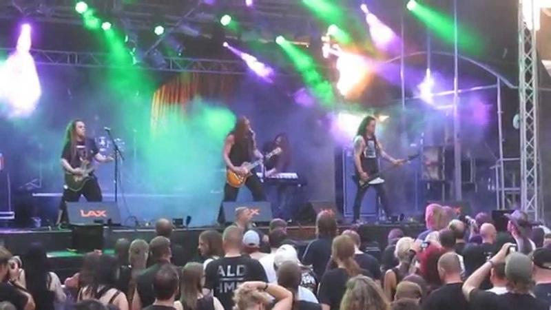 Poisonblack - EscapexstacyBuried Alive *live* @ Castle Rock Festival, Mülheim an der Ruhr, 03.07.15