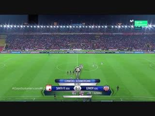 Копа Судамерикана 2018 / Санта-Фе - Атлетико Хуниор