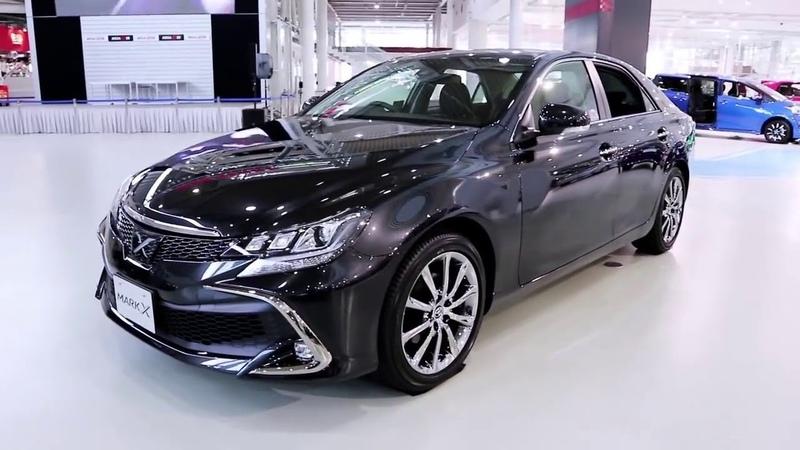 2018 Toyota Mark X - Обновленый седан класса «Люкс»