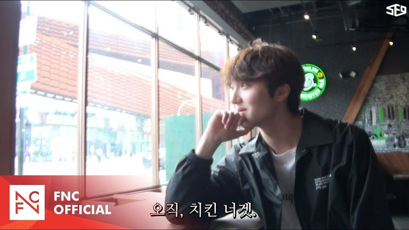 [SF9s Travelog] YOUNG BIN JAE YOON CHA NI in SHAKE SHACK