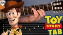 Como tocar la canción de Toy Story Yo soy tu amigo fiel en guitarra acústica | Tablatura TCDG