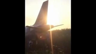 Аварийная посадка А321 в Подмосковье есть пострадавшие