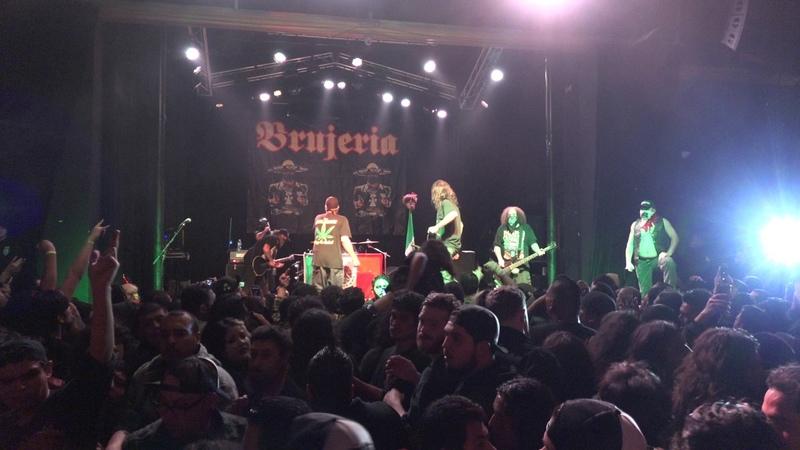 BRUJERIA Santa Ana, CA. 1-11-2017
