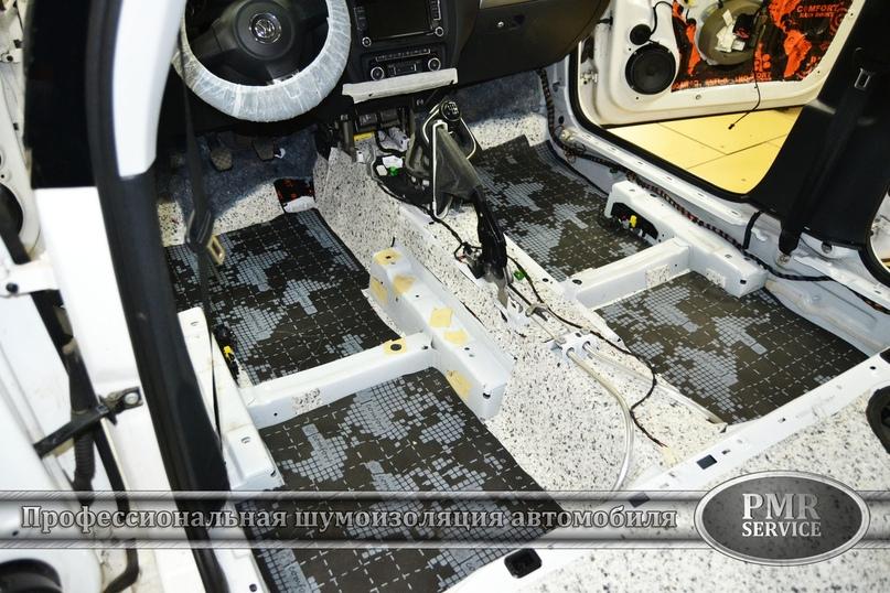 Комплексная шумоизоляция Volkswagen Jetta, изображение №5