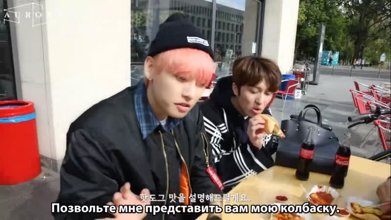 [РУС.САБ][SF9s Travelog] 1st Day Off in Berlin