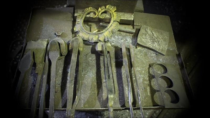 Blacksmithing tools. Художественная ковка. Кузнечный инструмент. Перебойки и вырубки
