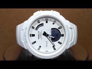 Casio Baby-G BSA-B100-7A Bluetooth Step tracker watch video 2018