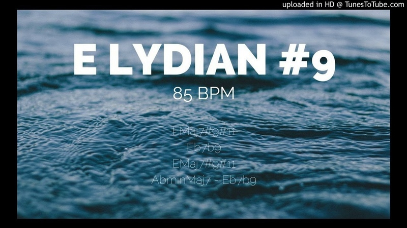 Chill E Lydian 9 Backing Track