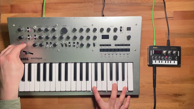 Patch of the Week 54: minilogue NTS-1 Sound-on-sound Drone Looping
