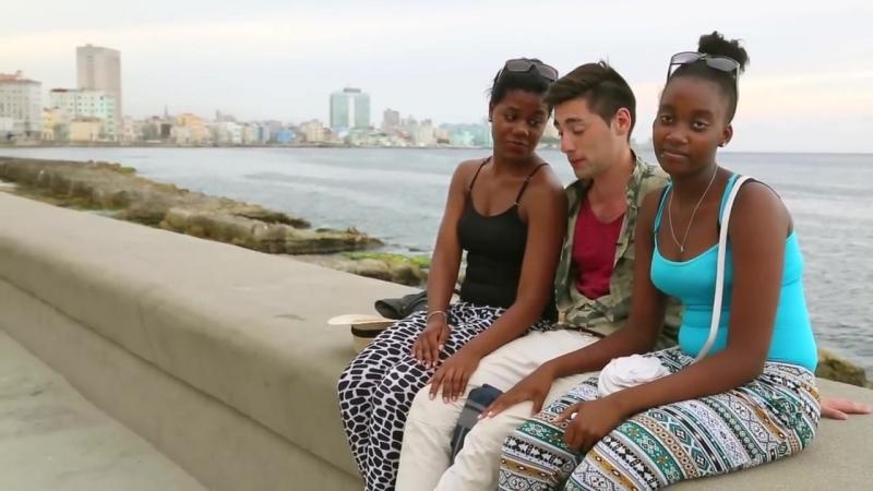 Где заняться любовью на Кубе Скамейка любви Куба Гавана Малекон Malecón Cuba Havana