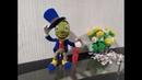 Сверчок Джимми из Буратино, ч.5. Jimmy cricket from Pinocchio, р.5. Amigurumi. Crochet.