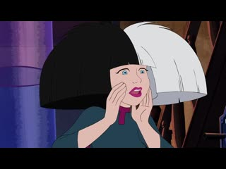 Sia at scooby-doo and guess who