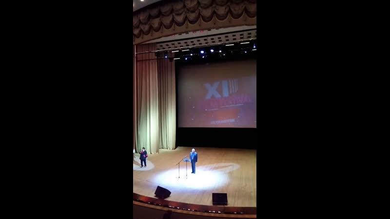 Спецпоказ XI кинофестиваля От всей души Выступление заслуженного деятеля искусств Павла Любимцева