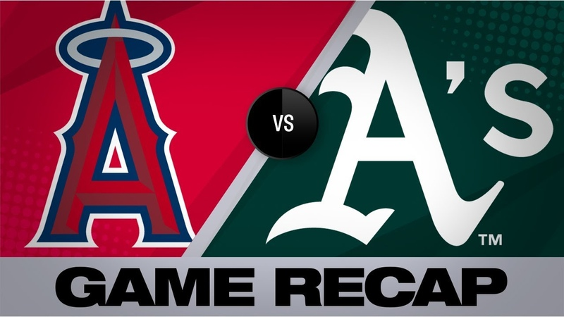 Brown, Chapman lead A's in a win over Halos | Angels-A's Game Highlights 9/3/19