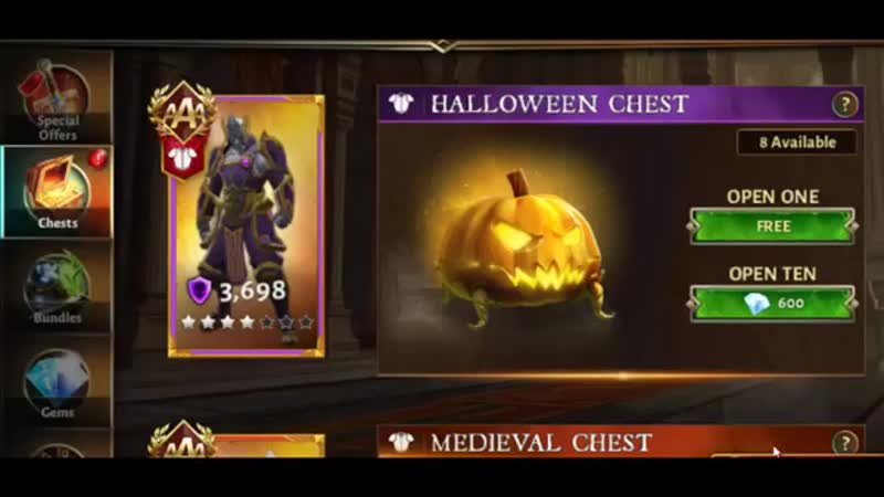 DH 5 Halloween Chest