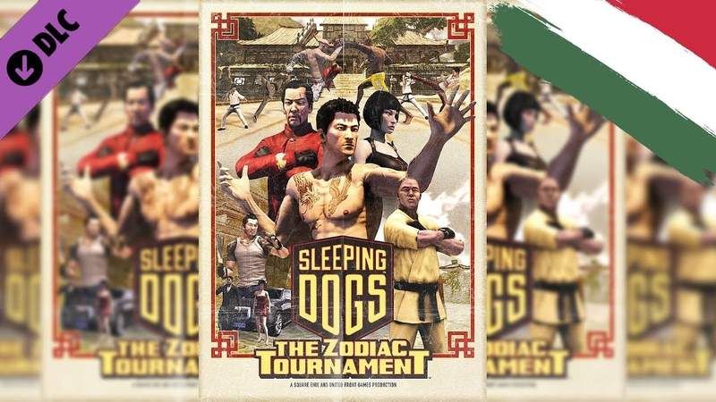 Sleeping Dogs Zodiac Tournament DLC Cinematic |HUN Magyar|