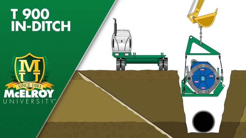 McElroy TracStar 900 In-Ditch Benefits