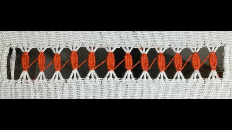Hand embroidery Tarkashi stitch design Hemstitching vainica Tarkashi Karne Ka tarika