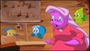 Мультики про рыбок Приключение рыбки Фредди подводный мультфильм Веселый замок
