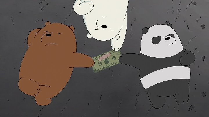Мы обычные медведи 3 сезон 03 серия 100 долларов
