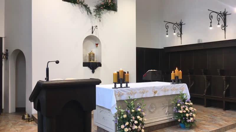 XXVIII е рядовое воскресенье в монастырском храме св Антония Чудотворца
