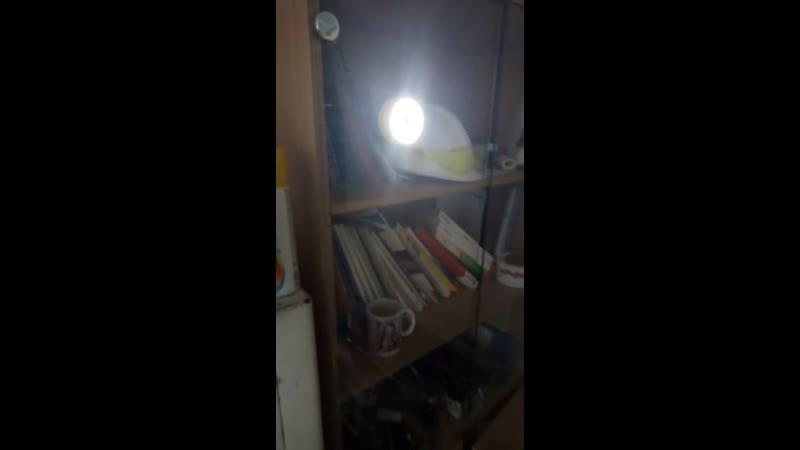 диодный фонарь на присоске