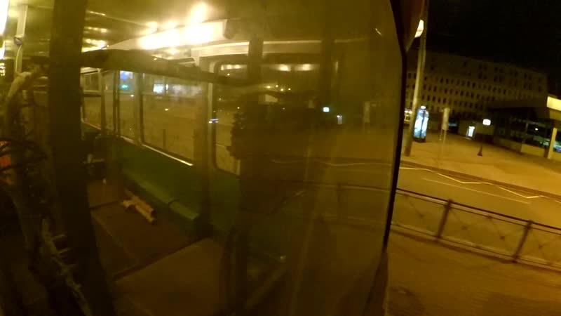 Служебный трамвай КТМ-5 (ВС-41) в 2way и запалами