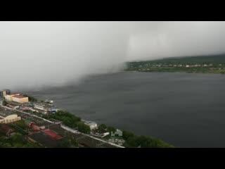Как накрывало Пермь. Ураган в Перми 10 июля 2019