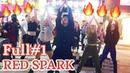 [K-POP in Public] Full1 190501 РУССКИЕ ТАНЦУЮТ В КОРЕЕ RED SPARK cover dance Hongdae busking