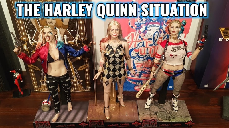THE HOT TOYS HARLEY QUINN DANCER DRESS VERSION SITUATION