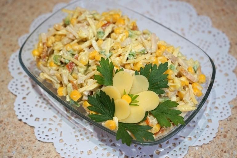 Самые вкусные правильные салаты