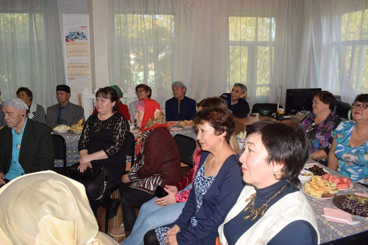 День пожилого человека Тара татары Омская Дом дружбы