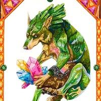 Zelda, Линк - открытка/принт/плакат