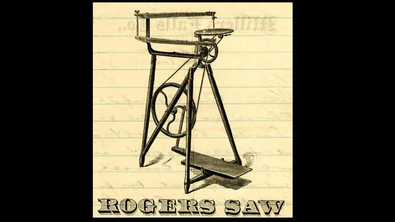 New Rogers Treadle Scroll Saw