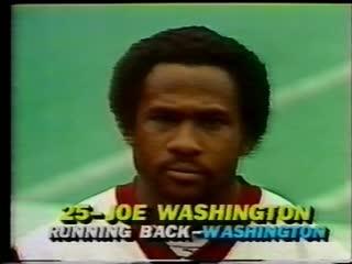 Washington Redskins vs New York Giants 1981 1st Half Week 11