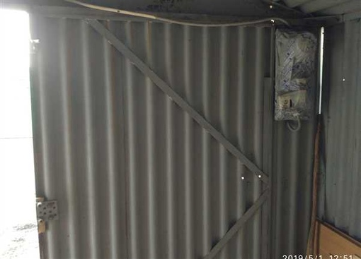 гараж металлический Карпогорская