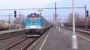 Электровоз 380 013-3 с поездом Metropolitan Eurocity Будапешт - Прага