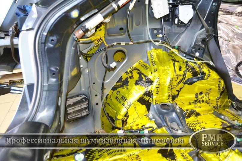 Комплексная шумоизоляция Subaru Impreza, изображение №8