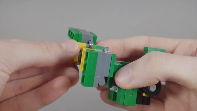 IXRollOutIX Lego Transformers Quickstop Classic Colors Ver