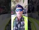 Vidéo censuré militaires gilets jaunes parle à ses frères dArmes