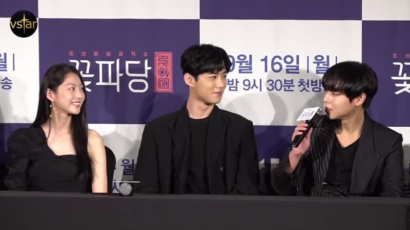 텐션 담당이라... 박지훈(Park Jihoon)이 밝히는 늘 행복한 촬영장 분위기 ('조선혼담공작소 꽃파당' 제작발표회)