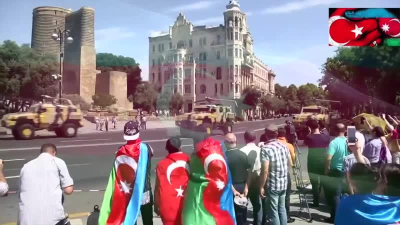 Azerbaycan Ordusunun 100 Kuruluş Yıl Dönümü Kutlanıyor