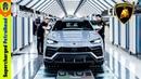 Lamborghini URUS Production - Italian Super SUV | Mega Factories