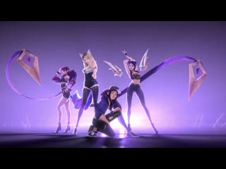 K/da pop/stars (ft. madison beer, (g)i-dle, jaira burns) | music video league of legends