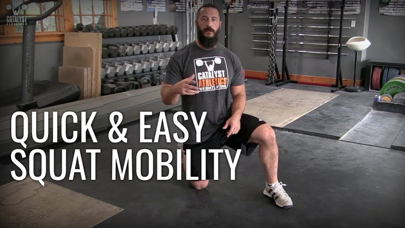 Quick Easy Squat Mobility - Superhero Complex