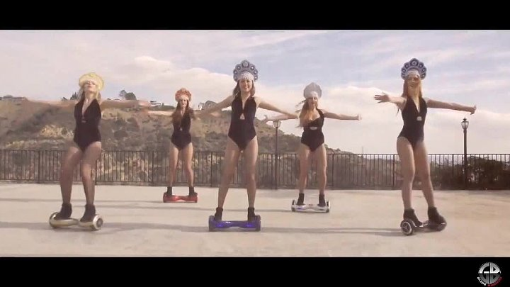 супер танцы девок на гироскутерах Депеш мода